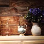 Vase and Barnboard