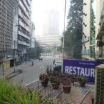 Aussicht vom Hotelrestaurant