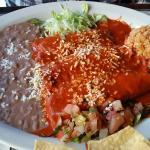Enchiladas guajillos