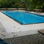 Shared pool for villas without private pool