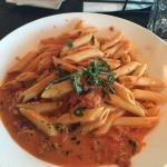 Lido's famous vodka pasta