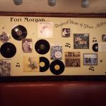 "The Glen Miller wall at Maverick""s"