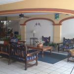Lobby sitting area.