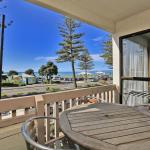 All units at our beachfront motel in Napier have ocean views.