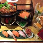 Very impressive Japanese lunch, if I'd have closed eyes, I'd have been back in Japan!! Good port