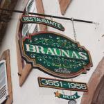 Fachada do Restaurante Braunas