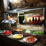 Self Service frutas e saladas