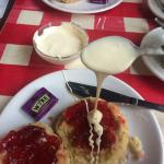 Very disappointed coming for a cream tea. They served double cream rather than clotted cream for