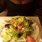 La salade lardons et fromage