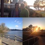 Sunset and Family Moments at Lake Blackshear