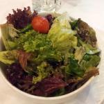 The mixed salad