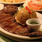 Churrasco and Mofongo