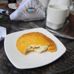 Egg arepa