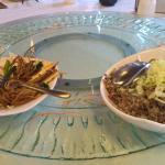 Olive Fried Rice & Tofu Vegetable
