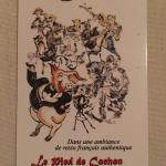 Business card - French resto of 4 decades. Chef-owner from Toulouse