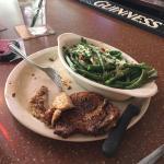 Pork Chops and frest green beans!