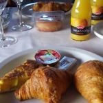 Algunas cosas del desayuno