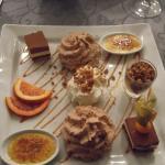 dessert menu Saint Valentin 2016