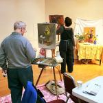 painting in the galleries