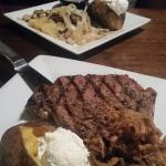 Ribeye and House Chop Steak