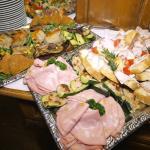 Köstliches italienisches Buffet