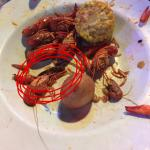Fried bug in my food that was NOT a crawfish