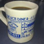 Beach Diner Fresh Brewed Coffee...YUM