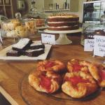 Homemade cakes and pastries