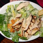 Chicken Caesar salad from the Children's Specialty Dishes