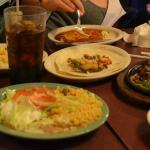 Fajitas, Queso, Enchiladas, Rice and more.