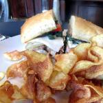 Beef Sandwich with Chips, Gardens of Avila, Avila Beach, Ca