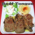 Beef Tongue Plate