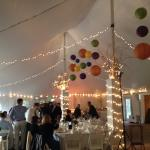 Tent - wedding reception
