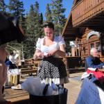 Waitress at Bavarian