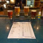 Flight of beer