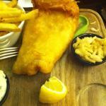 Backfisch als Tagesgericht