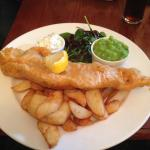 Beautiful fish and chips