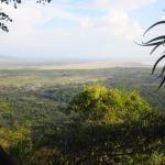 Vue sur le lac Manyara