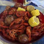 4 lbs of crawfish