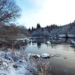 Winter at Inchbae