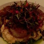 seared diver sea scallops, Parmesan risotto