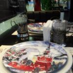 посуда в советском стиле