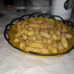 Typical farmers dessert (unshelled peanuts)