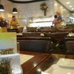 espaço interno do restaurante