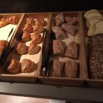 Continental Breakfast: Fresh Pastries and Breads