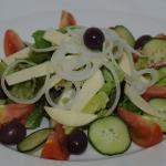 Fresh salads to accompany any meal (additional)