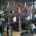 Traditional utensils on display