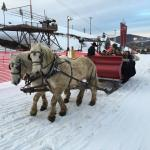 Fantastic sleigh ride to a neat cabin, great dinner, live music, nice folks! Do this! How often