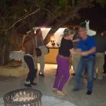 My birthday celebration with drums and native dancing.
