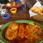 Chili relleno & beef enchilada combo